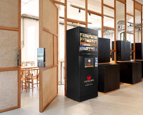 CoCoCafe無人咖啡機-學校