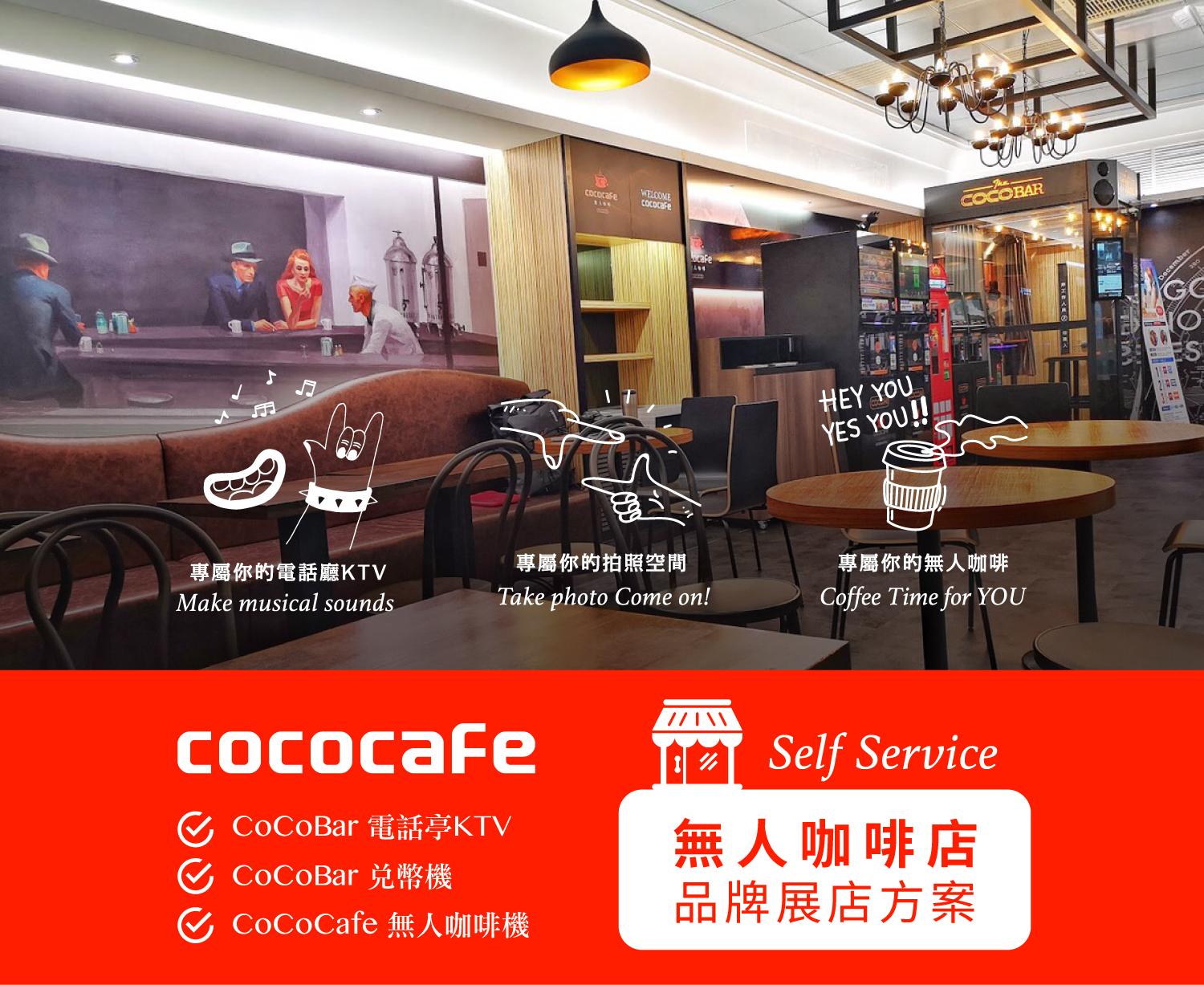CoCoCafe無人咖啡機-無人商店展店方案