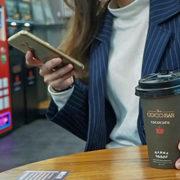 CoCoCafe無人咖啡機-大花說